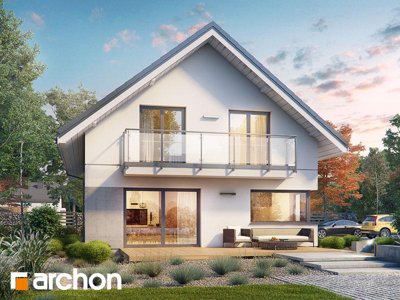 Проект дома ARCHON+ Дом в бровниках 4 (Г2) - Визуализация 1
