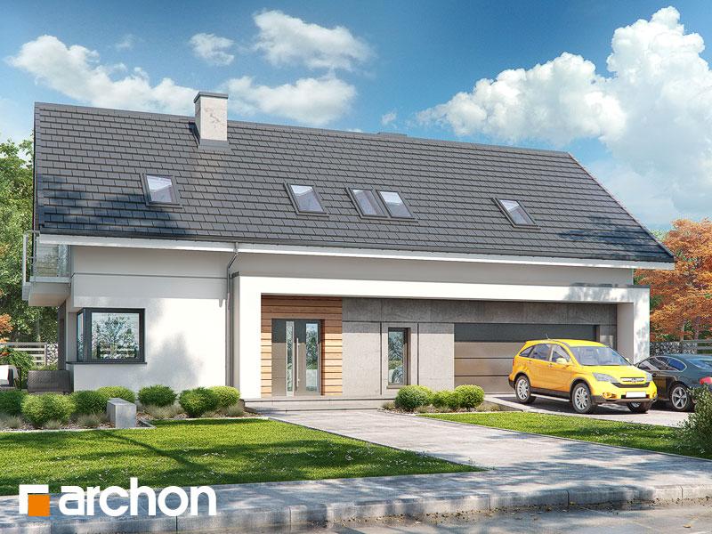 Проект дома ARCHON+ Дом в бровниках 4 (Г2) - Визуализация 2