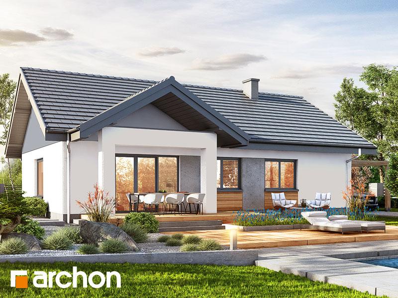 Проект дома ARCHON+ Дом в лещиновнике - Визуализация 2