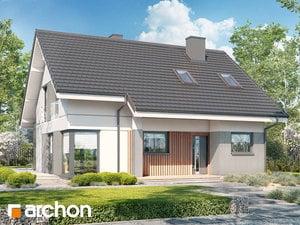 Проект дома ARCHON+ Дом в вистерии 2 (B)