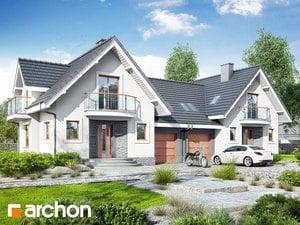 Проект дома ARCHON+ Дом в антоновке (Р2)