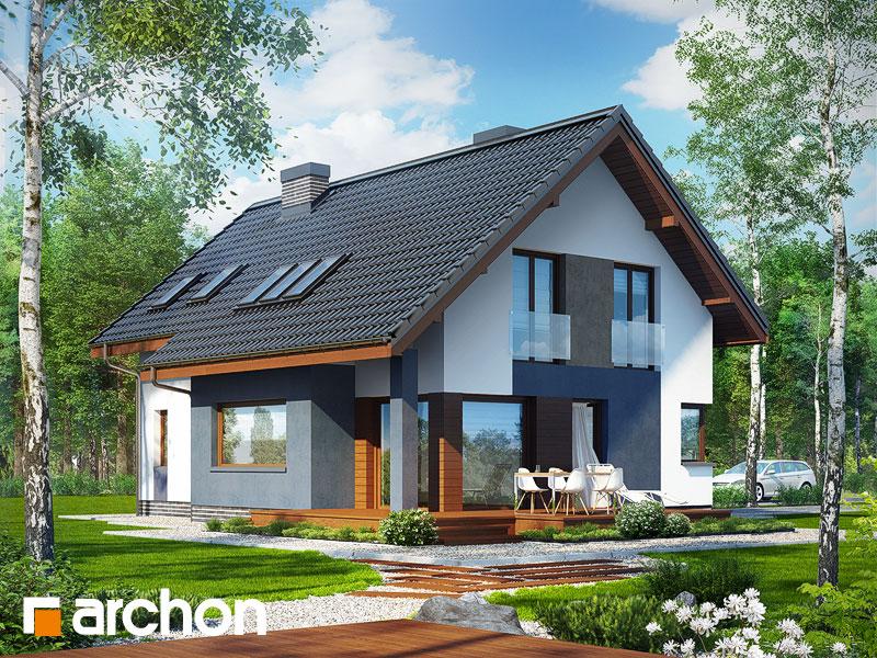 Проект дома ARCHON+ Дом в герминии - Визуализация 1