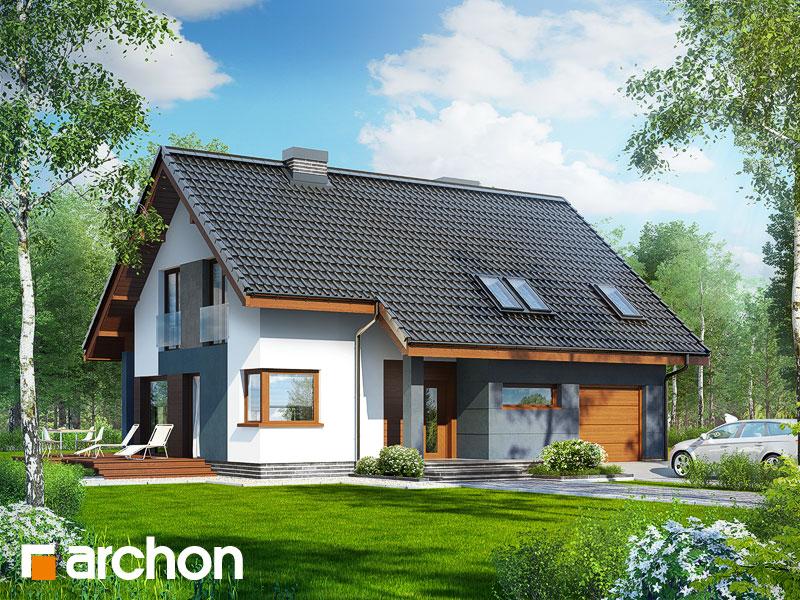 Проект дома ARCHON+ Дом в герминии - Визуализация 2