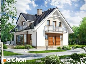 Проект дома ARCHON+ Дом в рододендронах 5 (ВH)