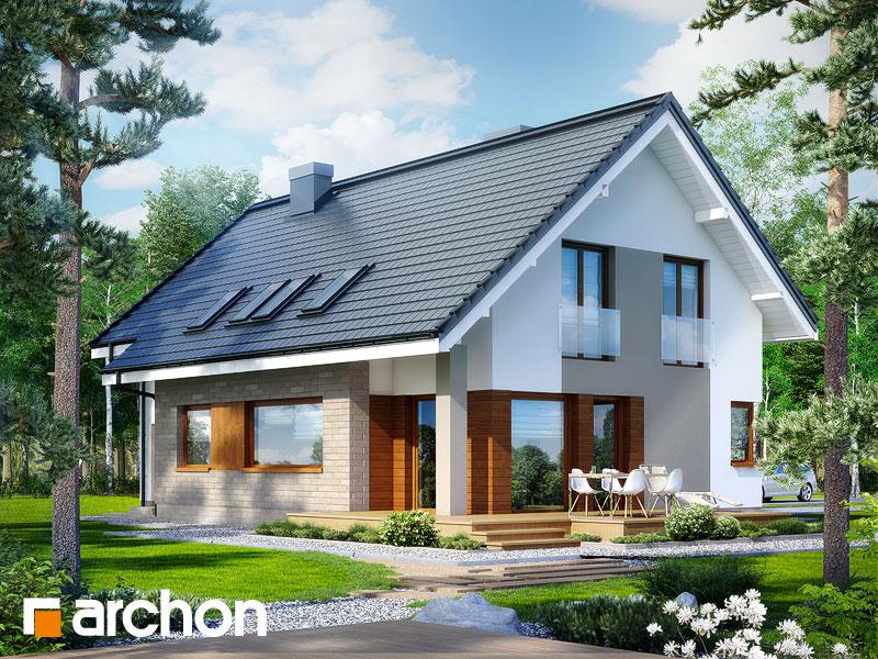 Проект дома ARCHON+ Дом в герминии 2 - Визуализация 1