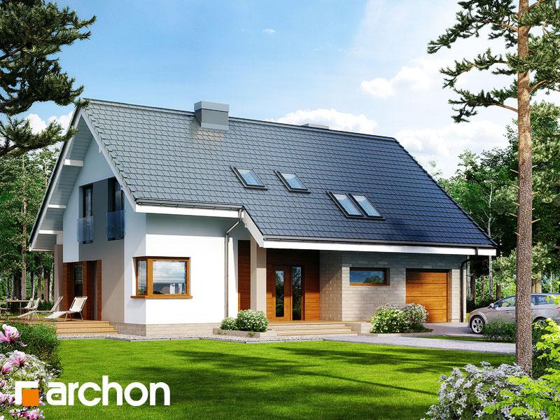 Проект дома ARCHON+ Дом в герминии 2 - Визуализация 2