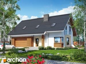 Проект дома ARCHON+ Дом в яблонках (Г2)