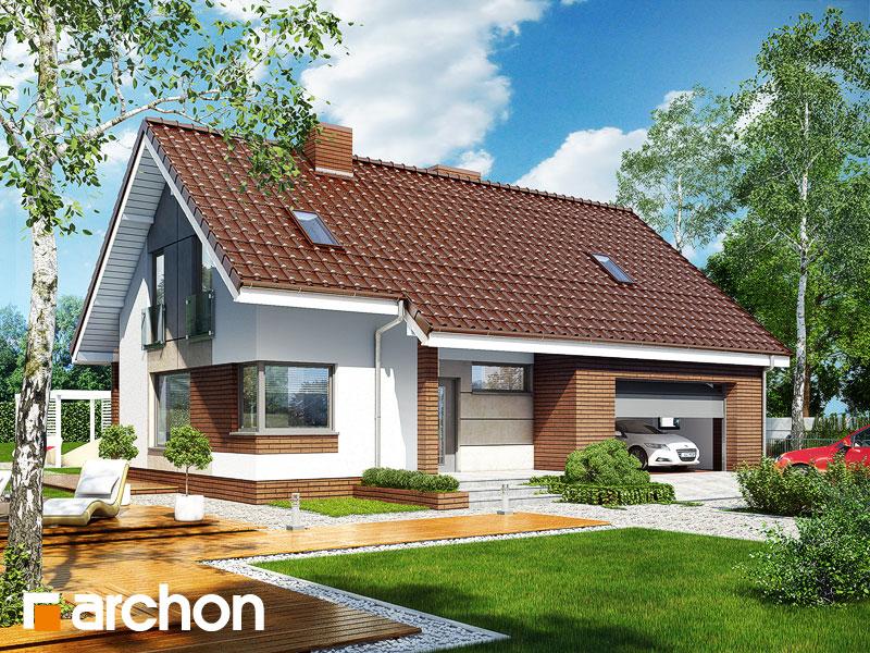 Проект дома ARCHON+ Дом в журавках (Г2) - Визуализация 1