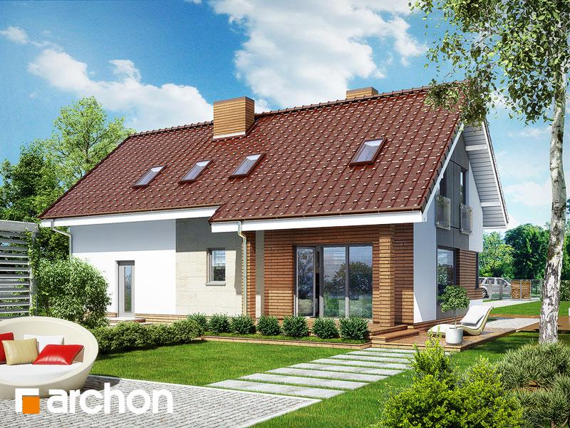 Проект дома ARCHON+ Дом в журавках (Г2) - Визуализация 2