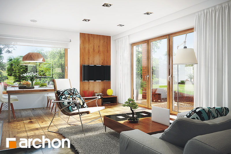 Проект дома ARCHON+ Дом в журавках (Г2) - Интерьеры