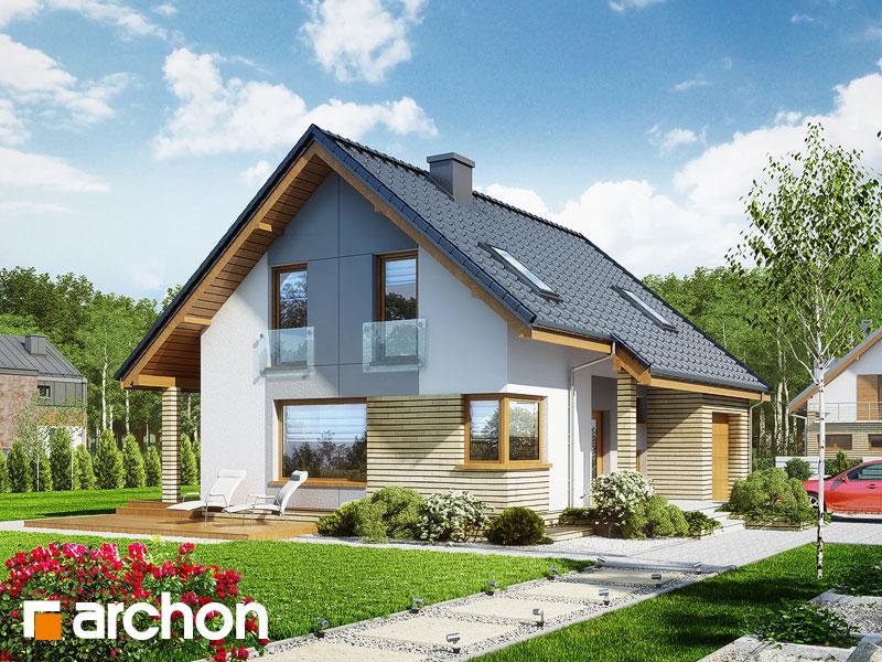 Проект дома ARCHON+ Дом в журавках (П) - Визуализация 1