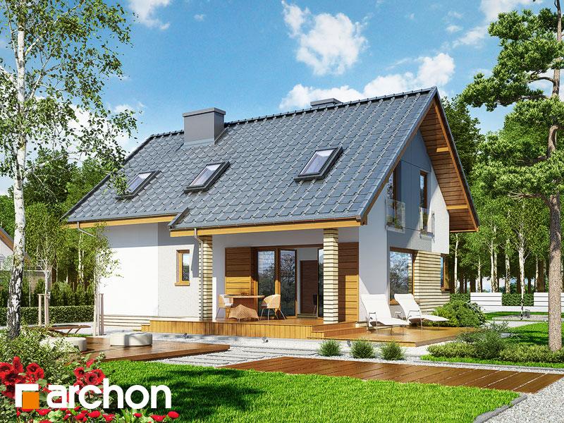Проект дома ARCHON+ Дом в журавках (П) - Визуализация 2