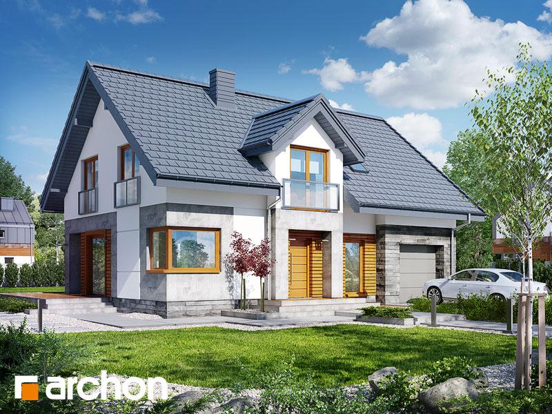 Проект дома ARCHON+ Дом в яновцах - Визуализация 1
