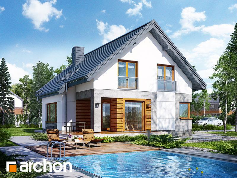 Проект дома ARCHON+ Дом в яновцах - Визуализация 2