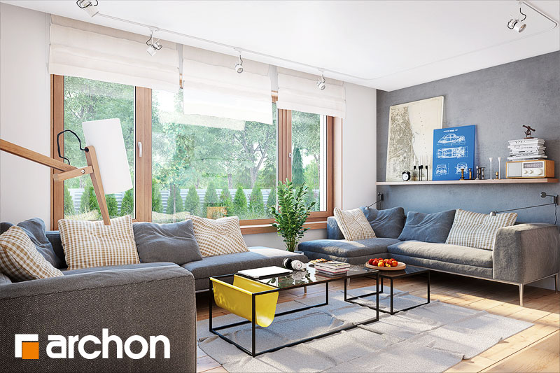 Проект дома ARCHON+ Дом в яновцах - Интерьеры