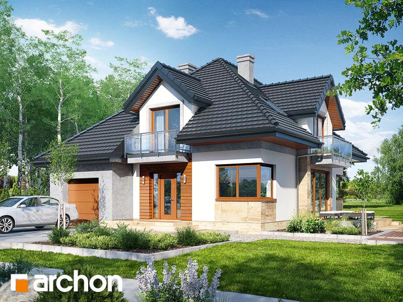 Проект дома ARCHON+ Дом в вавжинках - Визуализация 1