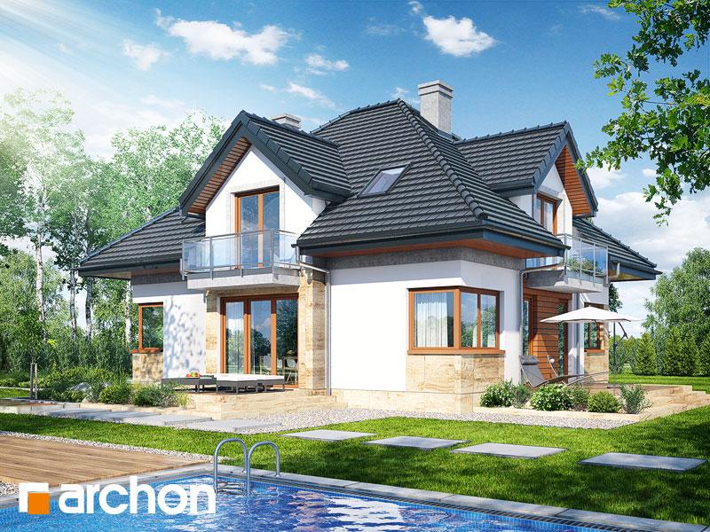 Проект дома ARCHON+ Дом в вавжинках - Визуализация 2