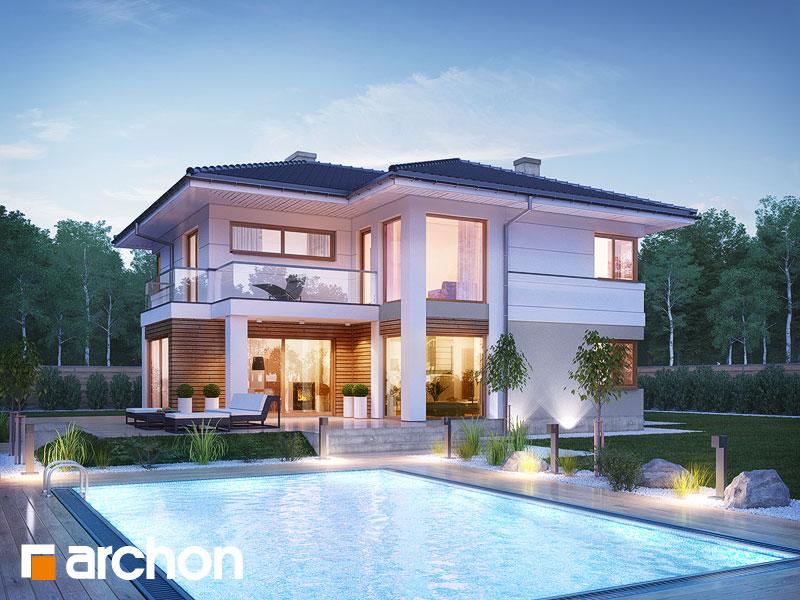 Проект дома ARCHON+ Вилла Оливия - Визуализация 1