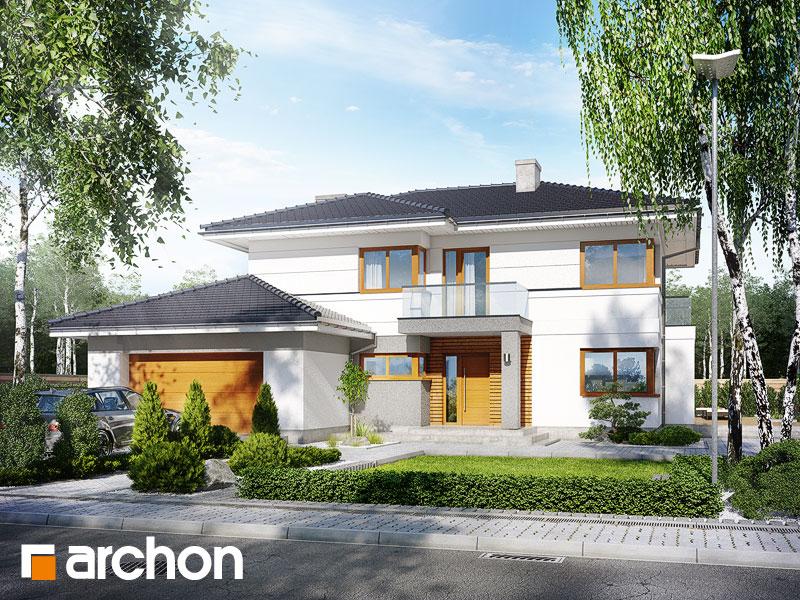 Проект дома ARCHON+ Вилла Оливия - Визуализация 2
