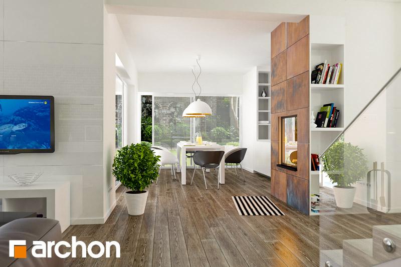 Проект дома ARCHON+ Вилла Оливия - Интерьеры