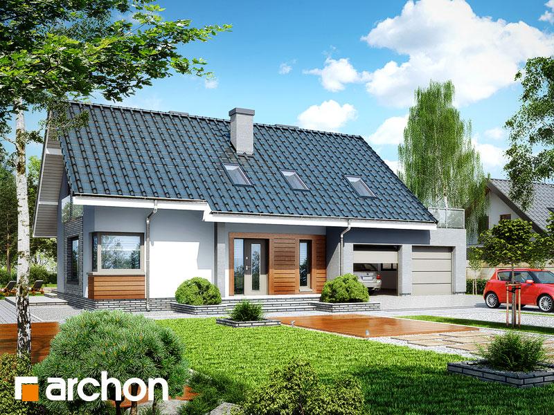 Проект дома ARCHON+ Дом в гейджее (Г2) - Визуализация 1