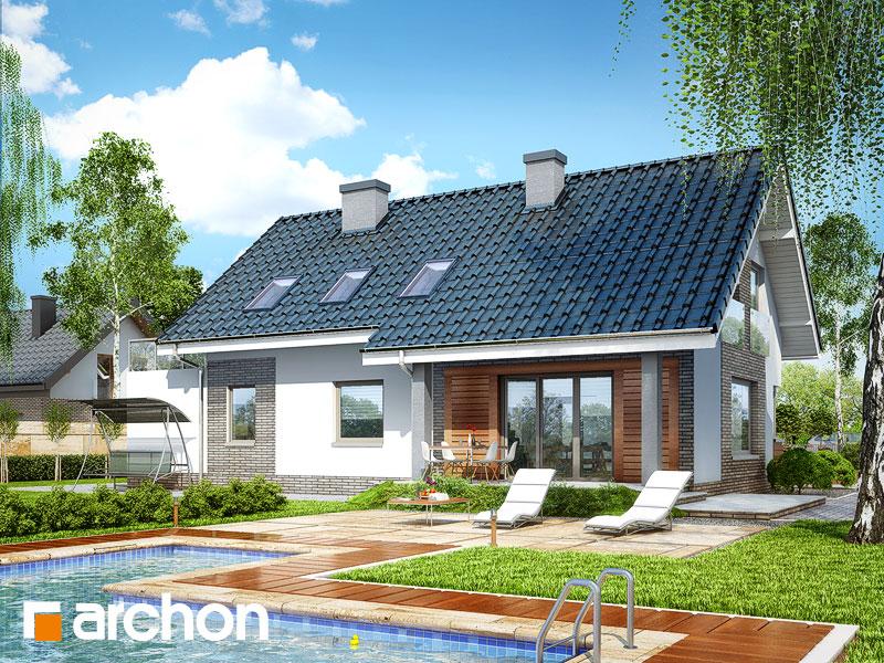 Проект дома ARCHON+ Дом в гейджее (Г2) - Визуализация 2