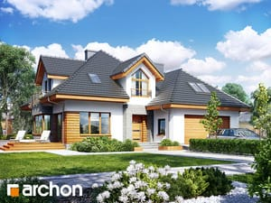 Проект дома ARCHON+ Дом в рукколе 2 (Г2H)