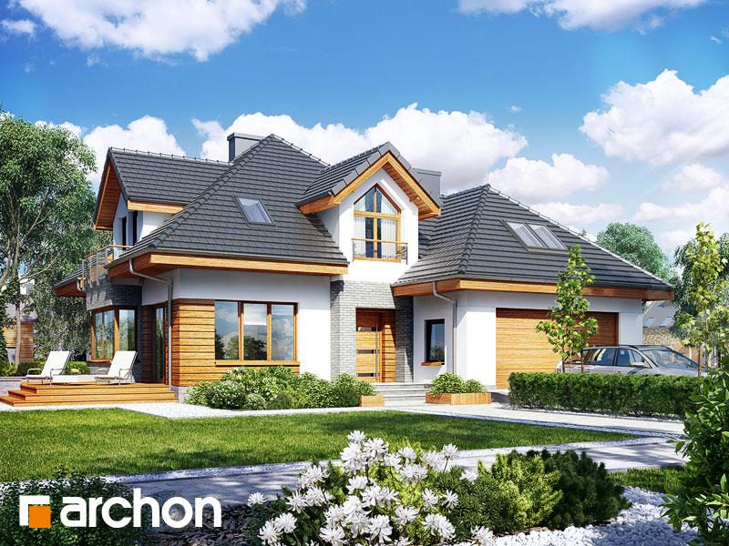 Проект дома ARCHON+  Дом в рукколе 2 (Г2H) - Визуализация 1