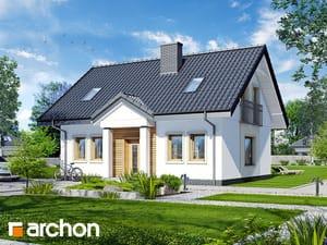 Проект дома ARCHON+ Дом под вербой