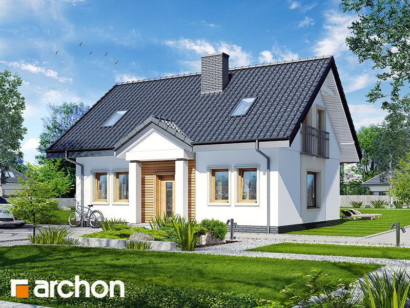 Проект дома ARCHON+ Дом под вербой - Визуализация 1