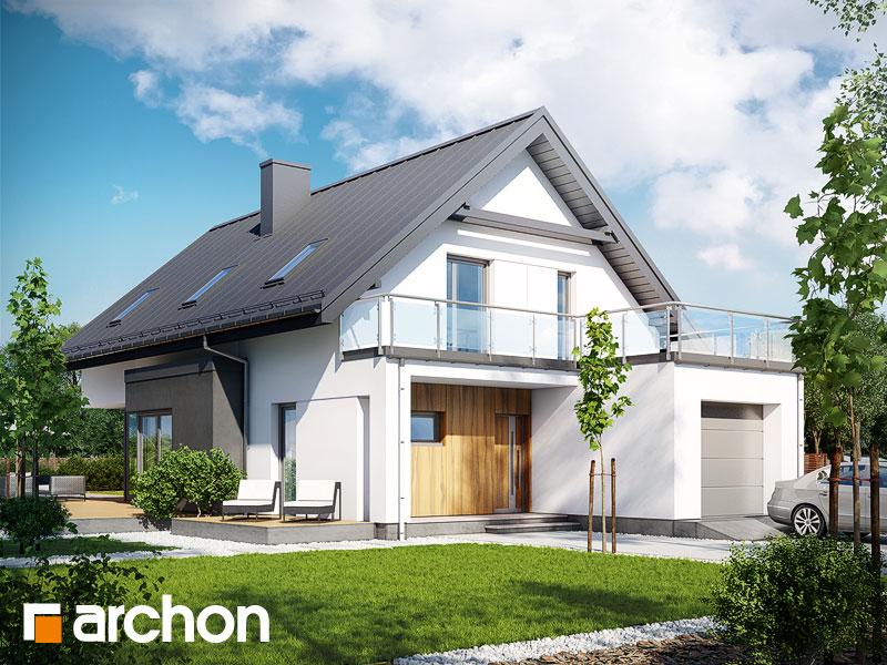 Проект дома ARCHON+ Дом под хикорой - Визуализация 1