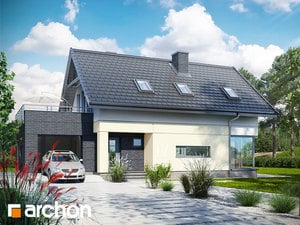 Проект дома ARCHON+ Дом в цитринках