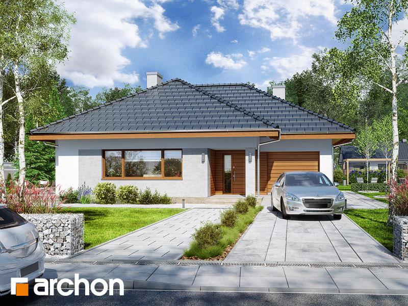 Проект дома ARCHON+ Дом в сирени 2 - Визуализация 1