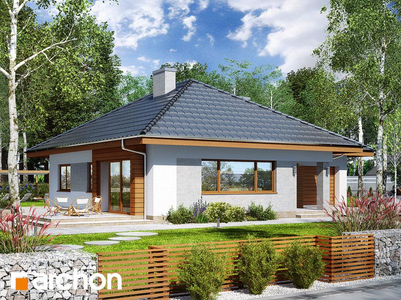 Проект дома ARCHON+ Дом в сирени 2 - Визуализация 2