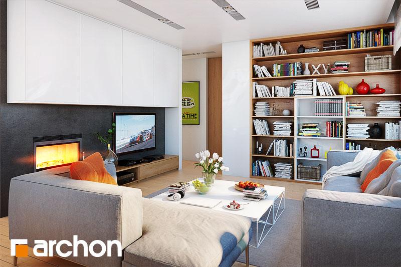 Проект дома ARCHON+ Дом в сирени 2 - Интерьеры