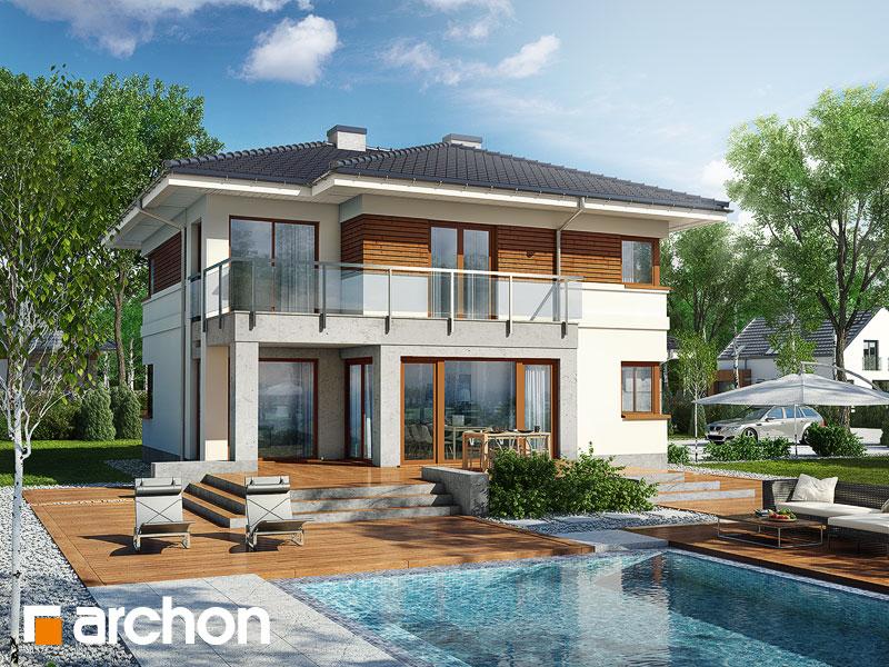 Проект дома ARCHON+ Вилла Элиза - Визуализация 1