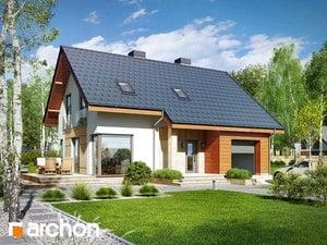 Проект дома ARCHON+ Дом в журавках 3