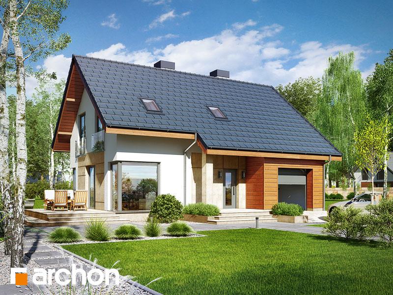 Проект дома ARCHON+ Дом в журавках 3 - Визуализация 1