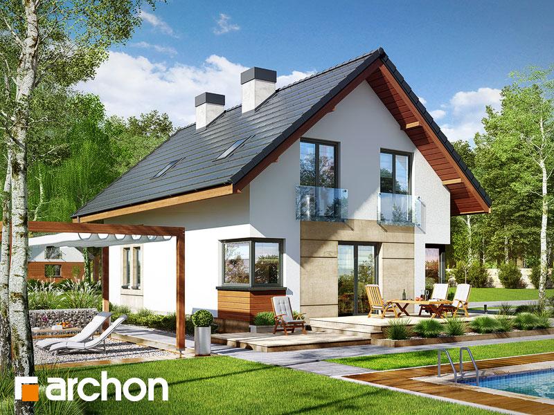Проект дома ARCHON+ Дом в журавках 3 - Визуализация 2