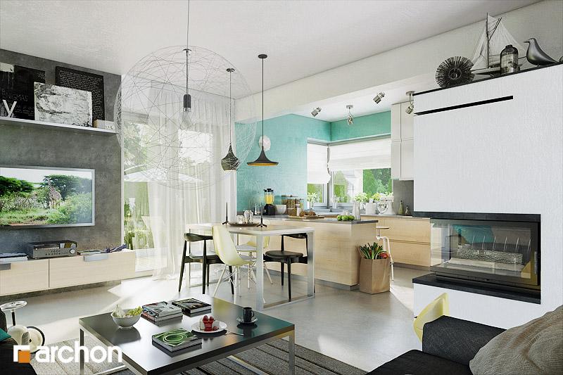 Проект дома ARCHON+ Дом в журавках 3 - Интерьеры