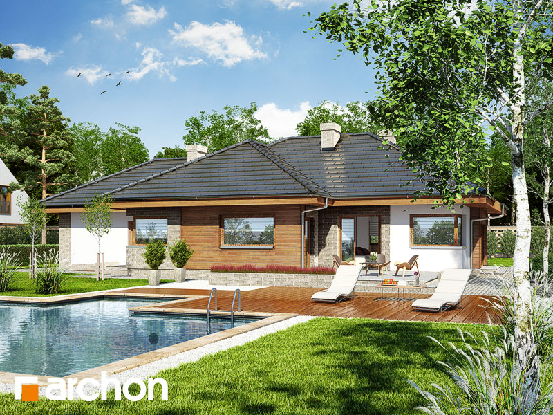 Дом под цицербитой (Г2) - Визуализация 2