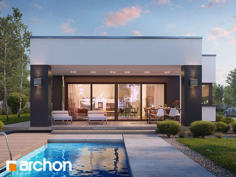 Проект дома ARCHON+ Дом в пеперомиях (Г2) - Визуализация 1
