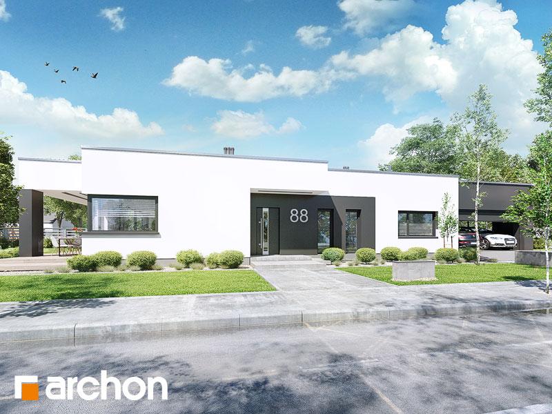 Проект дома ARCHON+ Дом в пеперомиях (Г2) - Визуализация 2