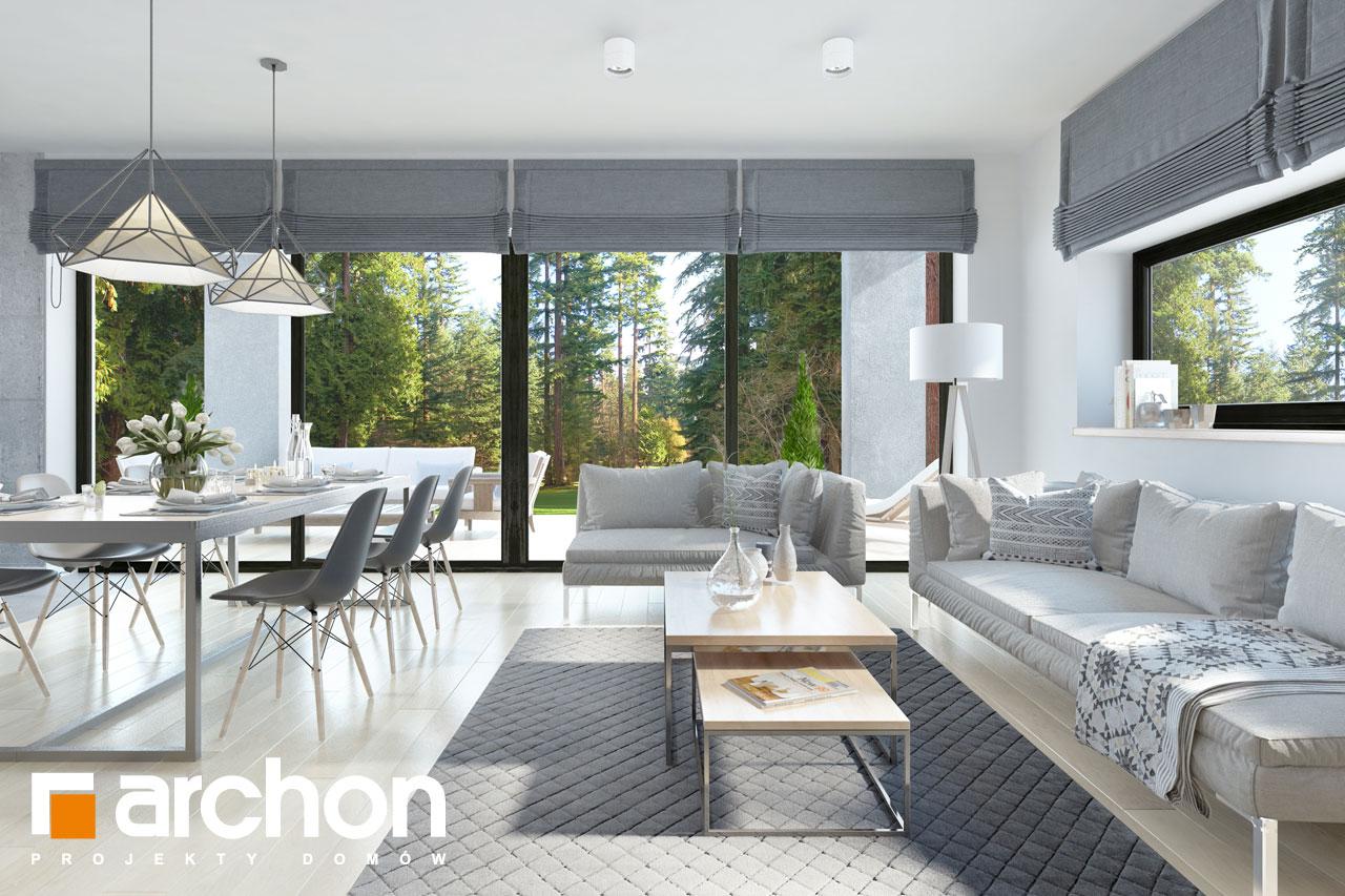 Проект дома ARCHON+ Дом в пеперомиях (Г2) - Интерьеры