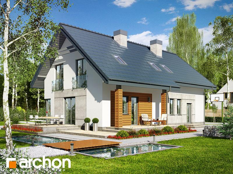 Проект дома ARCHON+ Дом в яблонках 3 (Г2) - Визуализация 2