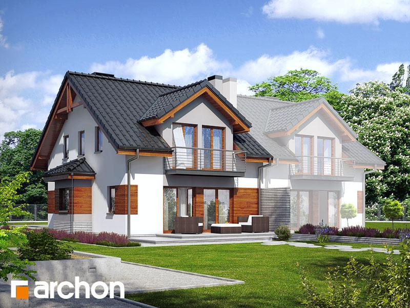 Проект дома ARCHON+ Дом в клематисах 9 (БT) - Визуализация 2