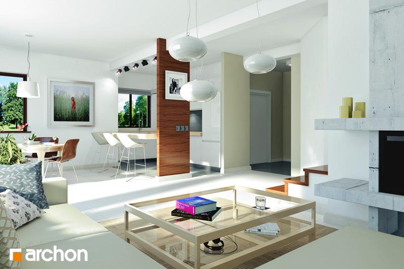 Проект дома ARCHON+ Дом в клематисах 9 (БT) - Интерьеры