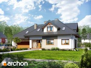 Проект дома ARCHON+ Дом в каннах 2 (П)