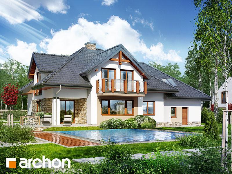 Проект дома ARCHON+ Дом в каннах 2 (П) - Визуализация 2