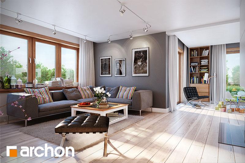 Проект дома ARCHON+ Дом в каннах 2 (П) - Интерьеры